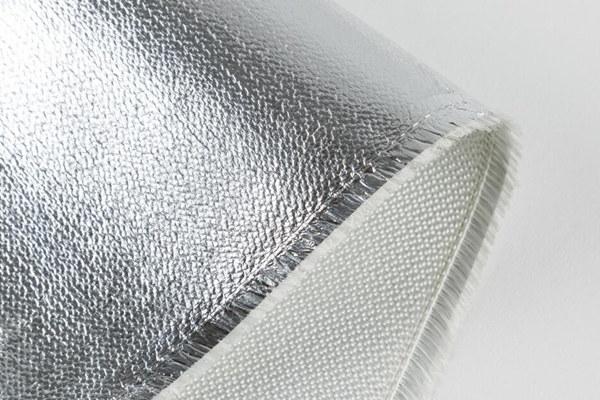 Tela de fibra de vidrio laminada con papel de aluminio