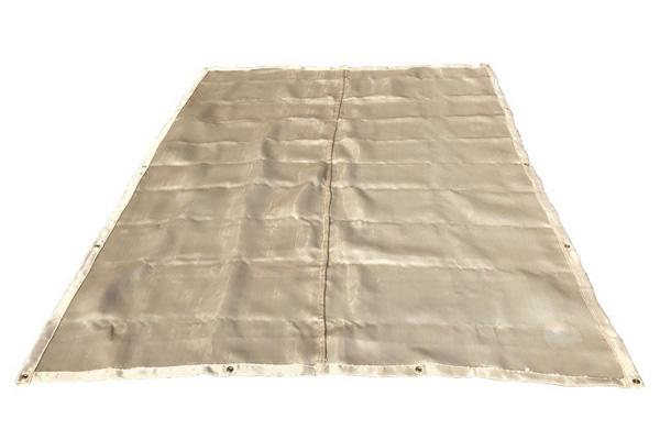 Cobertor de solda elétrica contra fogo