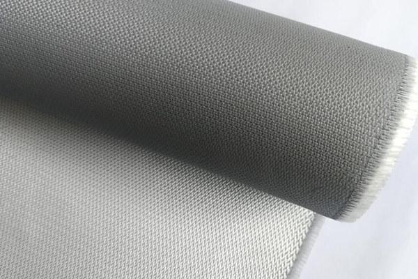 Tejido de fibra de vidrio recubierto de PU reforzado con alambre