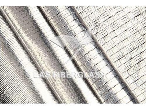Tecido de fibra de vidro de folha de alumínio