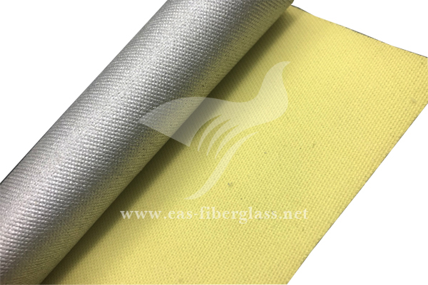 Арамидная ткань с серебряным покрытием
