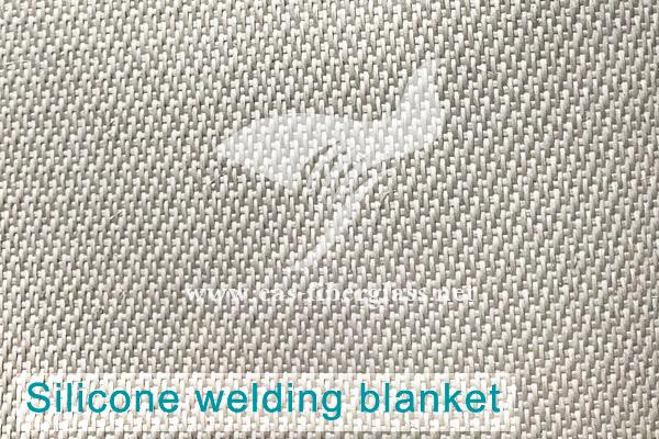 Pano de fibra de vidro de silicone econômico da China