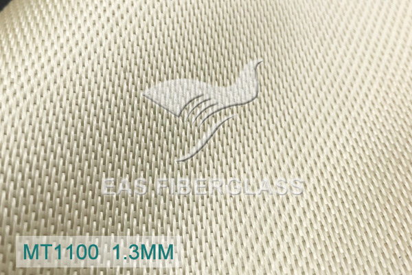 Tecidos de fibra de vidro de sílica