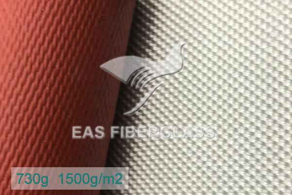 Tela de sílice recubierta de silicona