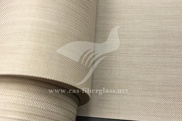 剥离层多孔PTFE涂层玻璃纤维布