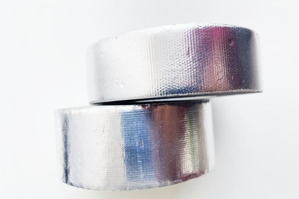 Cinta de fibra de vidrio de papel de aluminio desgarrable a mano